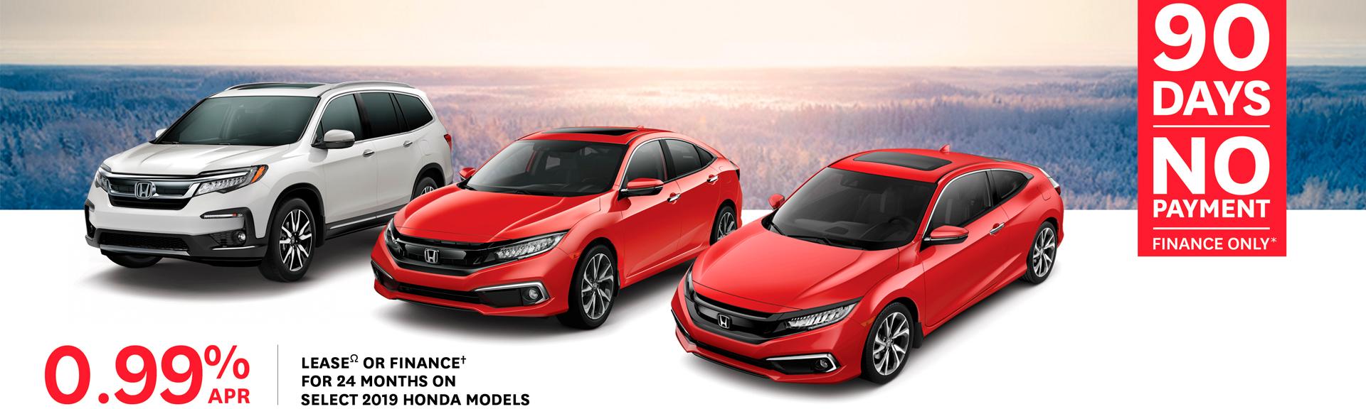 2019 Honda Rates