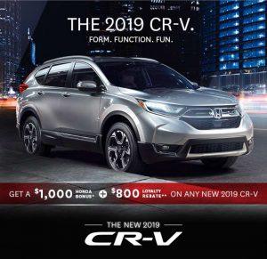 The New Honda CR-V 2019